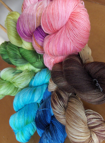 New Semi solid Yarn Love Colors