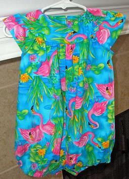 Lexie Hawaiian Romper (1)