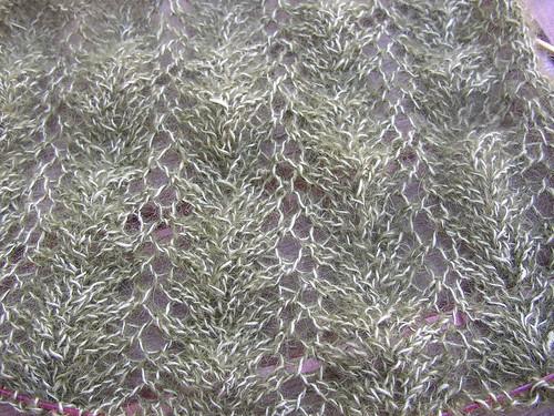 vine lace scarf pattern