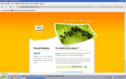 slideshows para ver las fotos de flickr