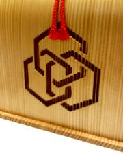 Carved Wood Food Box