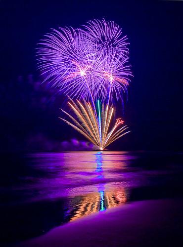 30 exemples de photographies de feux d'artifices pour vous inspirer