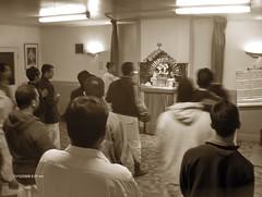 Sunday morning prayers led by Chetan Prabhu