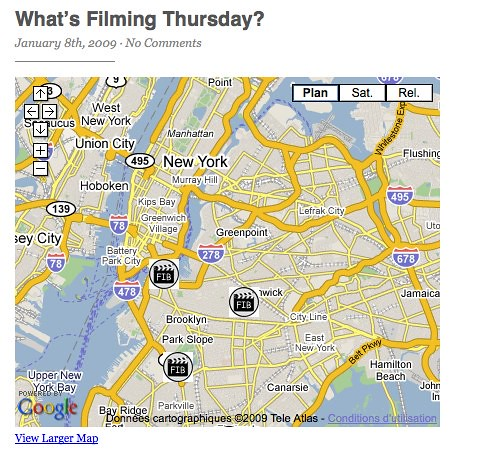 Filming In Brooklyn — What's filming in your neighborhood? by you.