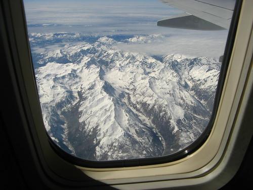 mountains over switzerland