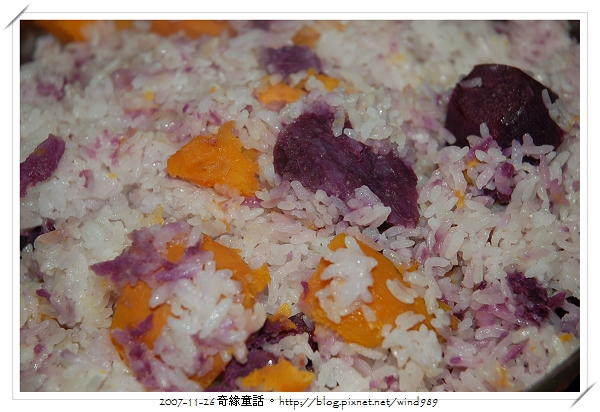 DSC_0070養生午餐_番薯飯