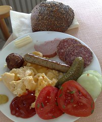 Breakfast at Ringhotel Seehof (Sierksdorf, Schleswig-Holstein, Germany)