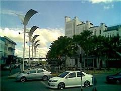 Sibu street scene