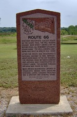 Route 66 marker