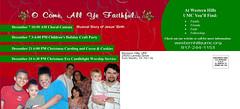 WHUMCSampleMarketing2008AdventDirectMailer-OComeAllYeFaithful2BACK2