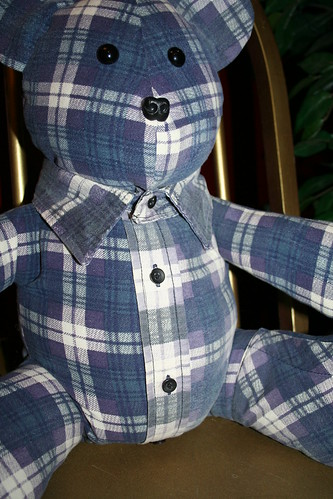 Flannel Bear 3 by you.