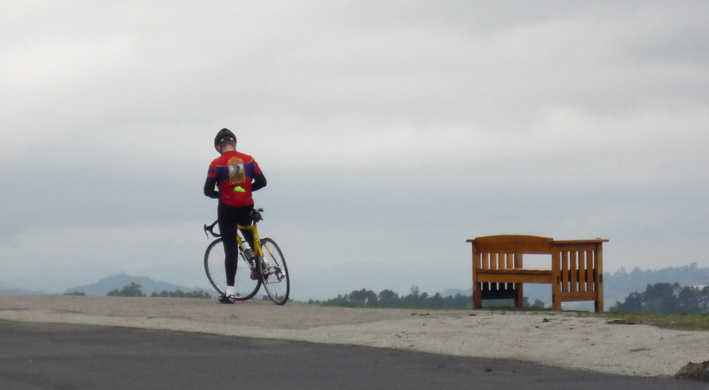 cyclist at foothill park