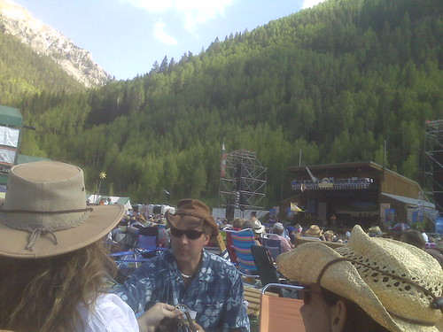 Mainstage Telluride fan's perspective