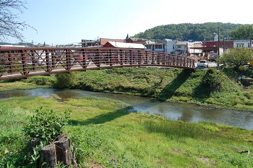 A bridge in Weston, WV.