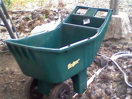 4-wheeled garden