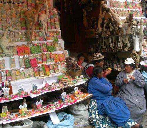 Bolivia - La Paz - Mercado de los Brujos - Shop