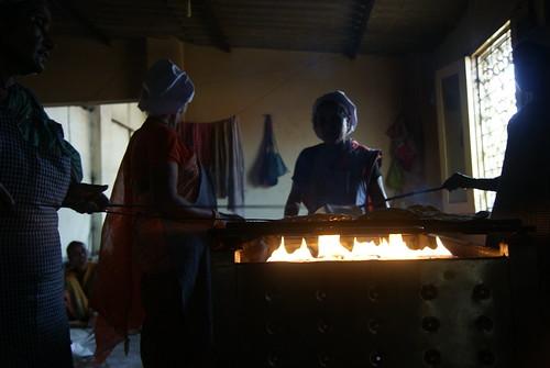 The Chappati making stove