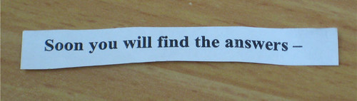 The best kind of fortune: wisdom.