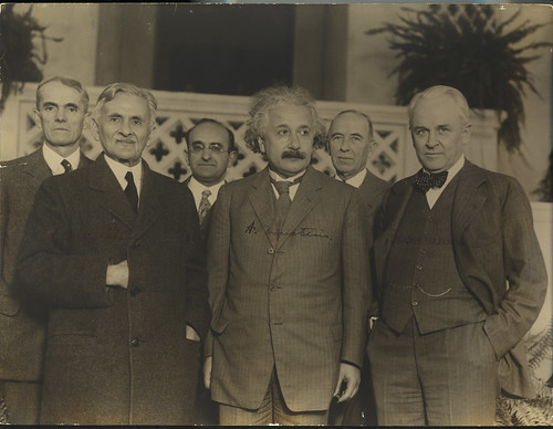 Portrait of Albert Einstein and Others