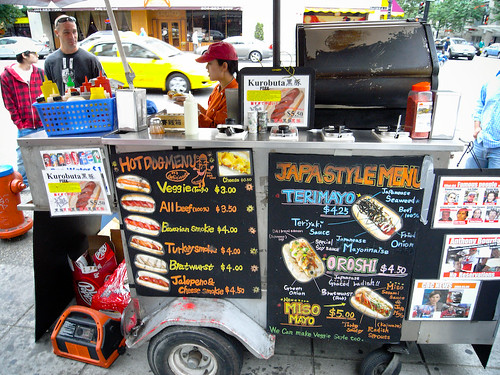 Japadog on Burrard