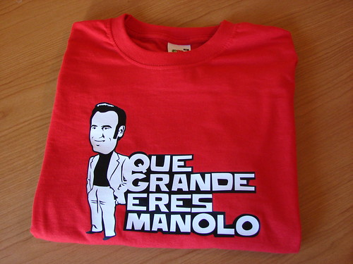 Camiseta Manolo Escobar