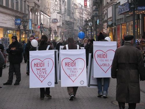 Heidi, che gli hai fatto?