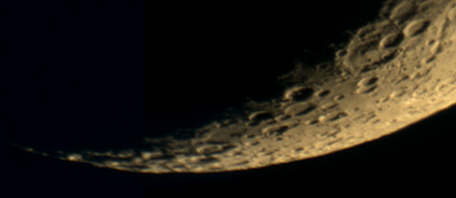 Lower Limb of the Moon on 12/31/08