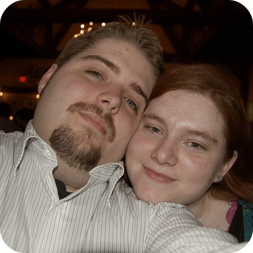 Dan and I (at a wedding, of course!)