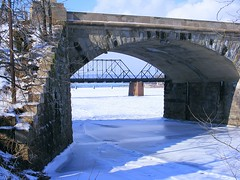 Bridges over frozen waters