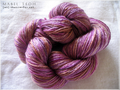 SS Handspun - Grape Galore