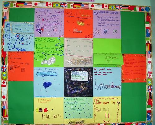 Words of Wisdom Bulletin Board