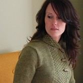 close up garnstudio asymmetrical sweater