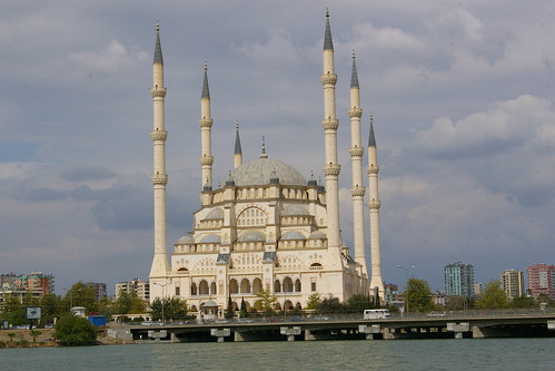 Adana Mosque from Hilton by you.