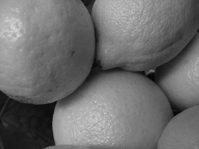 lemons, oranges and tangerines