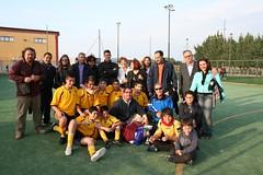 ASD, Theotokos con il Presidente Elia Danilo, il tecnico Carmelo Gurreri e tutti i piccoli theotokossini in compagnia dei familiari
