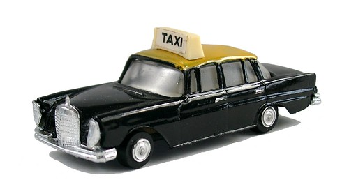 Nicky Toys Mercedes taxi