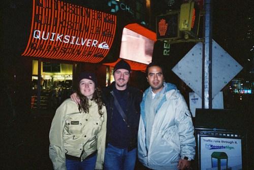 Times Square, tras una noche mágica