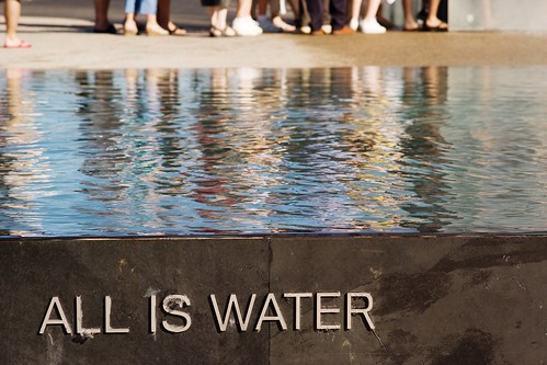 Todo es agua... y pies