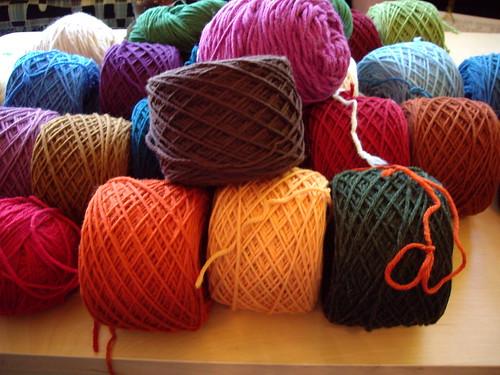 A whole lot of yarn
