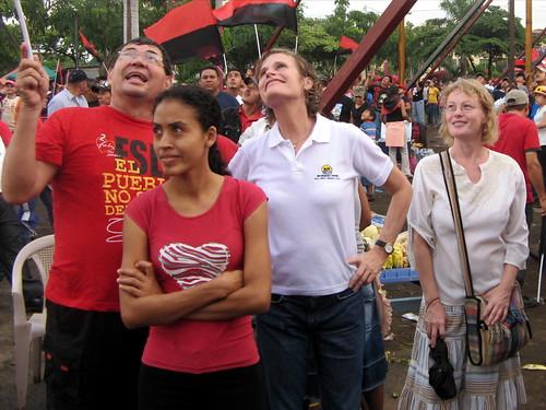 En la plaza, 19 de julio 2008