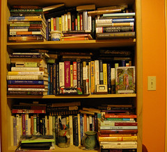 3 book shelves