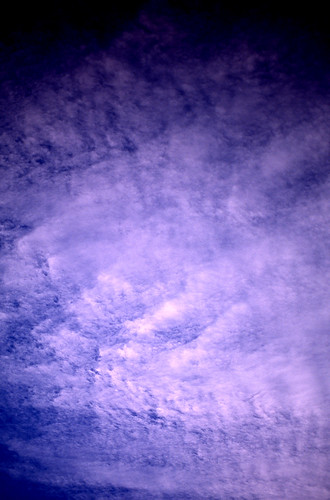 Cloud Abstract. (Fuji Provia 100F. Nikon F100. Epson V500.)