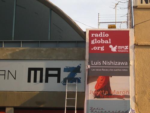 Radio Global en el MAZ