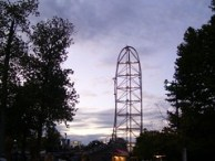 Cedar Point - Dragster Sunset
