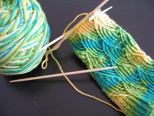 Daffodil sock