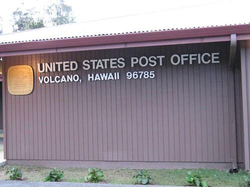 Volcano post office