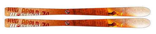 Movement Red Apple 74 Skis 2009
