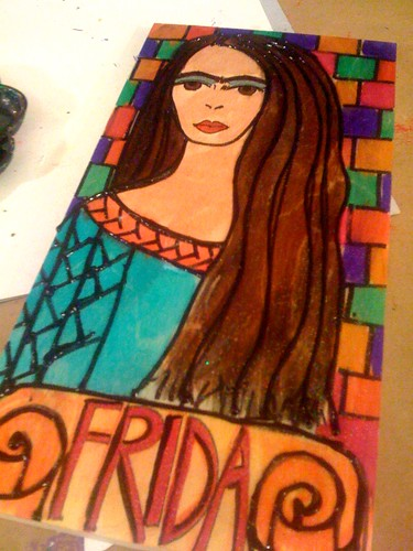 Frida painted