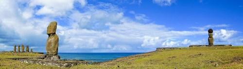 Panoramablick auf Tahai