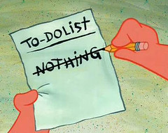 To do list.